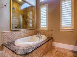 Master bath by Schwab Design Builders